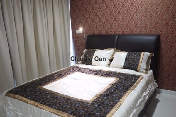 For Rent Condominium at Summer Suites, KLCC Leasehold Semi Furnished 1R/1B 2.3k