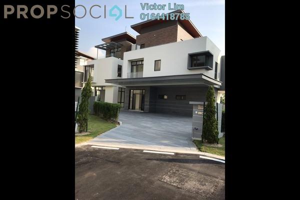 For Sale Bungalow at Long Branch Residences @ HomeTree, Kota Kemuning Freehold Unfurnished 6R/8B 3.5m