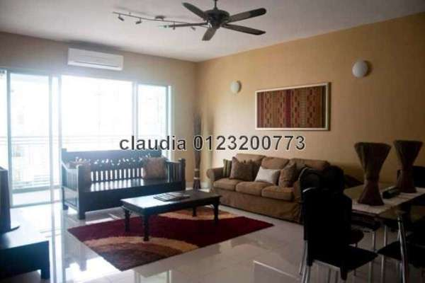 For Rent Condominium at Ceriaan Kiara, Mont Kiara Freehold Semi Furnished 3R/3B 4k