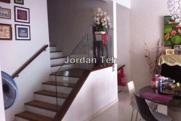 For Sale Townhouse at Challis Damansara, Sunway Damansara Leasehold Fully Furnished 3R/4B 1.38m