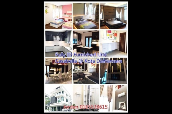 For Rent Bungalow at Casabella, Kota Damansara Leasehold Fully Furnished 6R/7B 9.5k