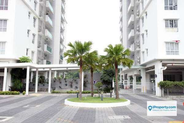 For Rent Condominium at Villa Orkid, Segambut Freehold Semi Furnished 3R/3B 1.8k