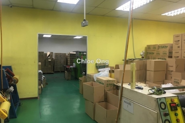 For Sale Factory at Taman Mas Sepang, Puchong Leasehold Unfurnished 0R/0B 2.65m