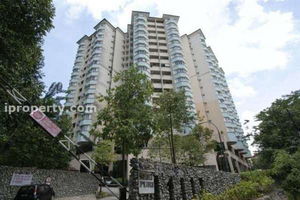 For Rent Condominium at Seri Puri, Kepong Freehold Fully Furnished 3R/2B 1.4k