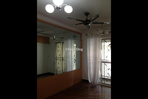For Rent Duplex at Armanee Terrace I, Damansara Perdana Leasehold Semi Furnished 3R/3B 3.2k