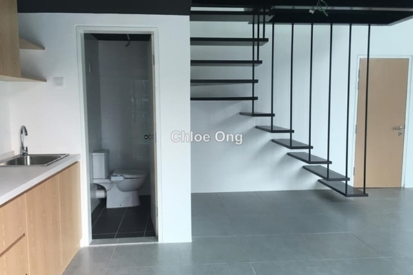 For Rent SoHo/Studio at Empire City, Damansara Perdana Leasehold Fully Furnished 1R/2B 1.2k