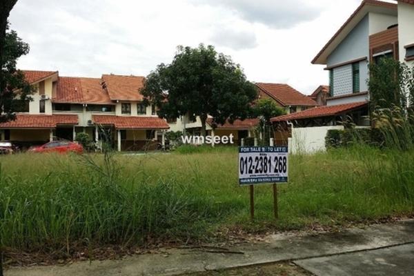 For Sale Land at Glenmarie Cove, Port Klang Freehold Unfurnished 0R/0B 660k