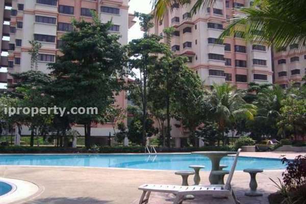 For Sale Condominium at Sunway Sutera, Sunway Damansara Freehold Semi Furnished 3R/2B 600k