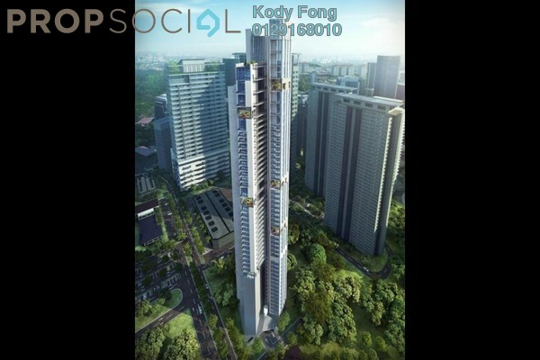 For Sale Apartment at Isola KLCC, Kuala Lumpur Freehold Fully Furnished 1R/1B 1.26m