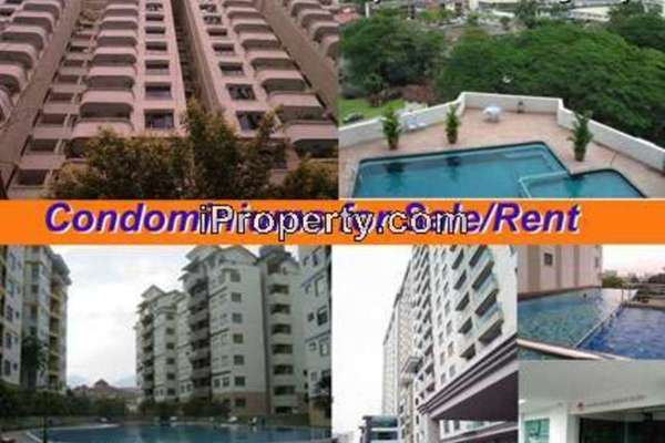 For Rent Condominium at Kinta Riverfront, Ipoh  Semi Furnished 3R/2B 2.8k