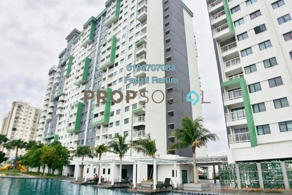 For Sale Condominium at Alam Sanjung, Shah Alam Freehold Unfurnished 3R/2B 490k
