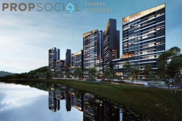 For Sale Condominium at Dream City, Seri Kembangan Freehold Unfurnished 1R/1B 380k
