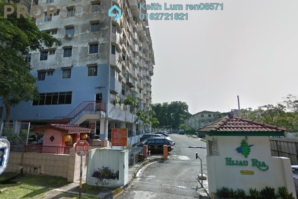 For Sale Apartment at Hijau Ria, Kepong Leasehold Unfurnished 3R/2B 300k