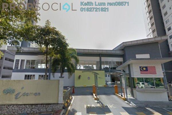 For Rent Condominium at Casa Idaman, Jalan Ipoh Freehold Fully Furnished 3R/2B 1.5k
