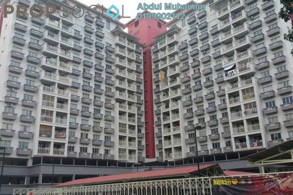 For Sale Condominium at Arena Green, Bukit Jalil Freehold Semi Furnished 3R/2B 390k