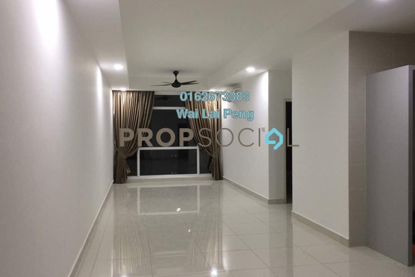 For Rent Serviced Residence at Central Residence, Sungai Besi Freehold Semi Furnished 3R/2B 2k