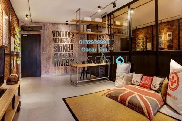 For Rent Condominium at Flexus Signature Suites, Segambut Freehold Fully Furnished 1R/1B 1.7k