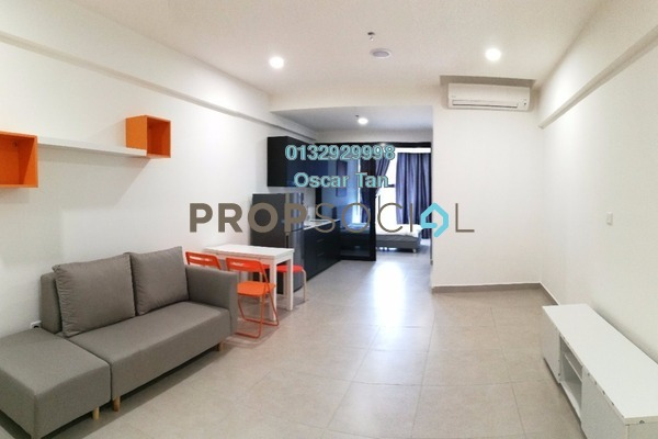 For Rent Condominium at Flexus Signature Suites, Segambut Freehold Fully Furnished 1R/1B 1.8k