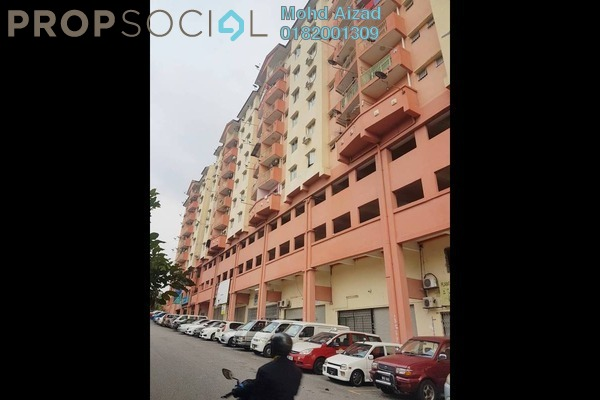 For Sale Apartment at Mesra Villa, Ampang Leasehold Semi Furnished 3R/2B 315k