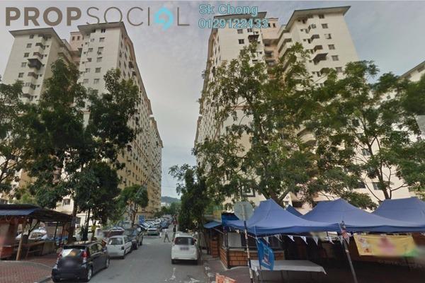 For Rent Apartment at Sri Rakyat Apartment, Bukit Jalil Freehold Unfurnished 3R/2B 1k
