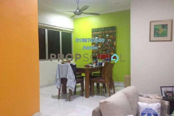For Sale Apartment at Sea Park Apartment, Petaling Jaya Freehold Semi Furnished 2R/1B 450k
