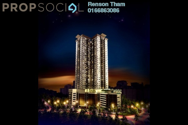 For Sale Condominium at Pinnacle, Sri Petaling Freehold Semi Furnished 2R/2B 480k