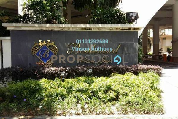 For Rent Condominium at Wangsa Baiduri, Subang Jaya Freehold Fully Furnished 2R/3B 2.5k