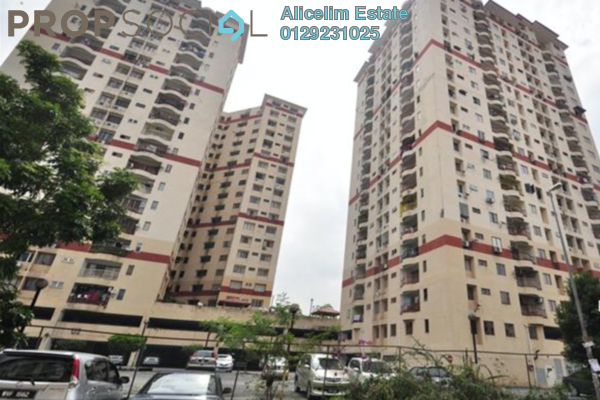 For Sale Condominium at Ampang Damai, Ampang Freehold Semi Furnished 3R/2B 355k