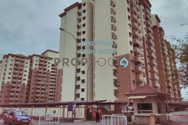 For Sale Apartment at Sri Lavender Apartment, Kajang Freehold Unfurnished 3R/2B 295k