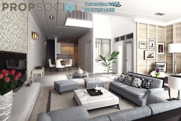 For Sale Terrace at S2 Heights, Seremban 2 Freehold Unfurnished 4R/4B 529k