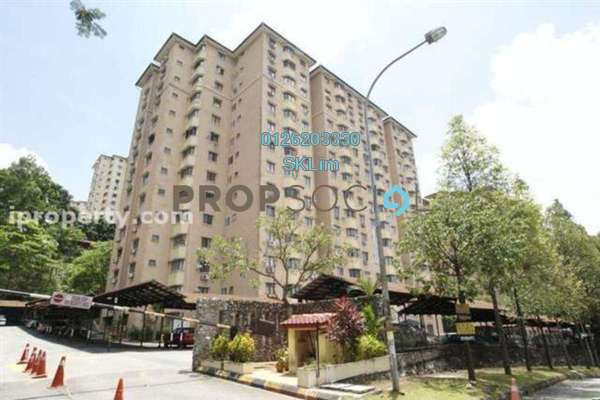For Rent Serviced Residence at Desa Satu, Kepong Freehold Unfurnished 3R/1B 700translationmissing:en.pricing.unit
