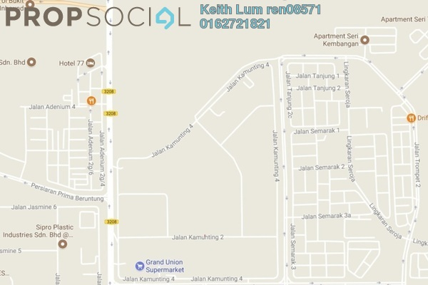 For Sale Land at Bukit Sentosa 2, Bukit Beruntung Freehold Unfurnished 0R/0B 3.47m