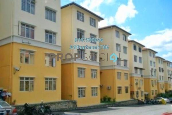 For Sale Apartment at Sri Baiduri Apartment, Ukay Freehold Semi Furnished 4R/2B 230k