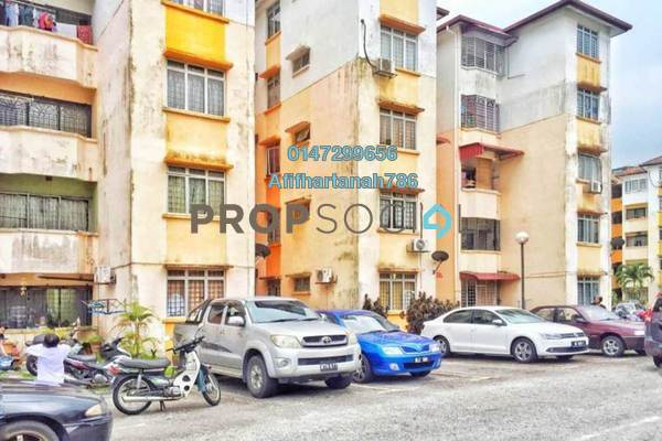 For Sale Apartment at Sri Melor Apartment, Ukay Freehold Semi Furnished 3R/2B 220k