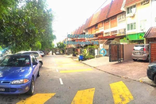 For Sale Terrace at Taman Bukit Teratai, Ampang Freehold Semi Furnished 4R/3B 430k
