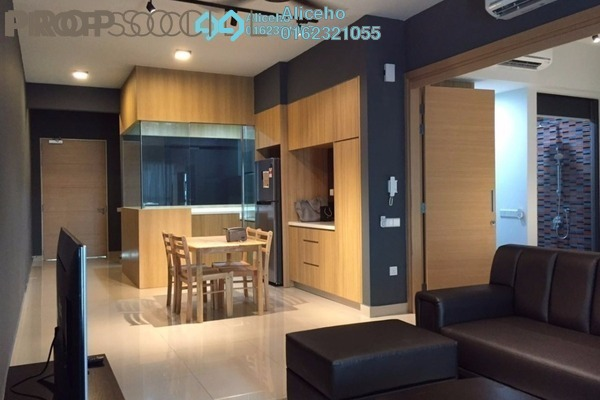 For Rent Condominium at The Leafz, Sungai Besi Freehold Fully Furnished 2R/2B 2.5k