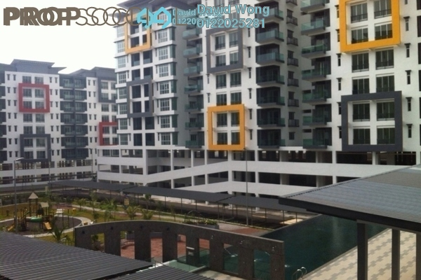 For Rent Condominium at Mahkota Garden Condominium, Bandar Mahkota Cheras Freehold Semi Furnished 3R/2B 1.3k