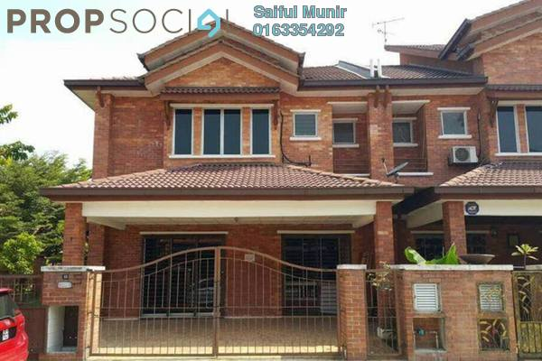 For Sale Terrace at Alam Budiman, Shah Alam Freehold Unfurnished 4R/4B 840k