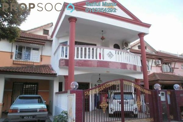 For Sale Terrace at Laman Bakawali Terrace Series 1, Kota Seriemas Freehold Semi Furnished 5R/3B 519k
