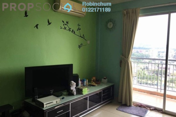 For Sale Apartment at Fortune Park, Kepong Freehold Semi Furnished 3R/2B 440k