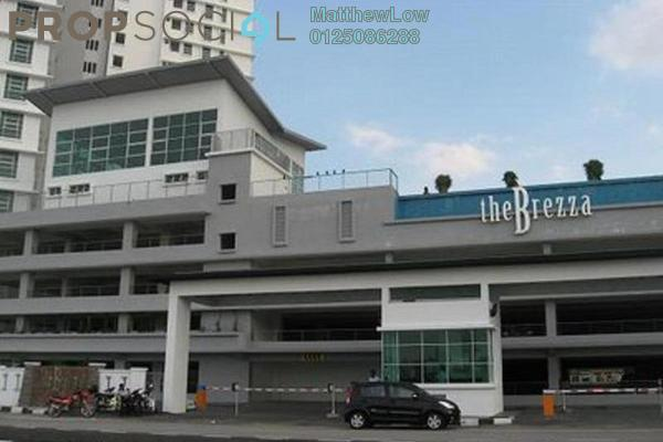 For Rent Condominium at The Brezza, Tanjung Tokong Freehold Fully Furnished 3R/2B 2.7k