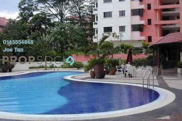 For Rent Condominium at Angkasa Impian 1, Bukit Ceylon Freehold Fully Furnished 1R/1B 2.6k