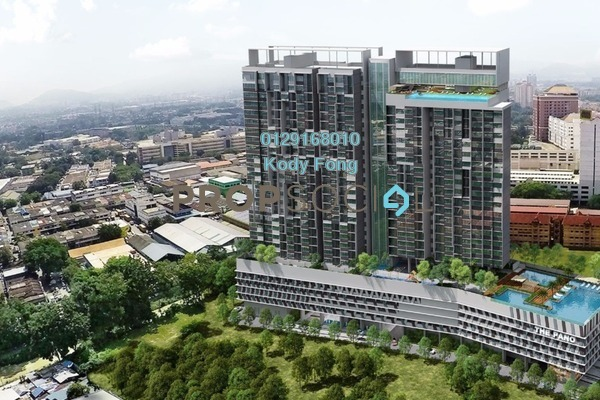 For Sale Condominium at The Pano, Sentul Freehold Semi Furnished 1R/1B 564k