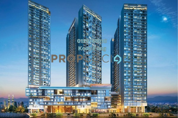 For Sale Condominium at Tria Residences @ 9 Seputeh, Old Klang Road Leasehold Semi Furnished 2R/2B 598k