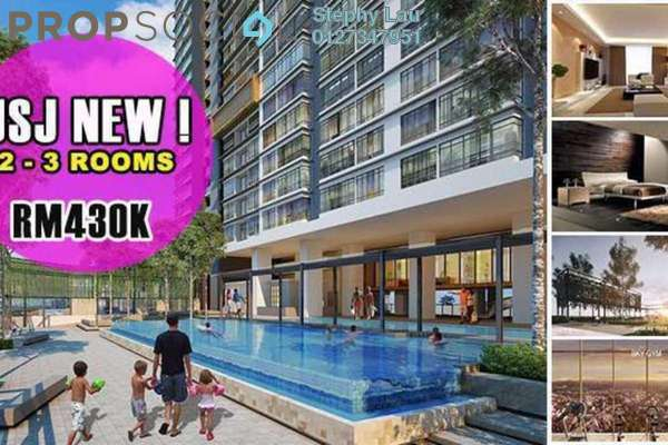 For Sale Condominium at The Edge Residen, Subang Jaya Freehold Semi Furnished 2R/2B 430k