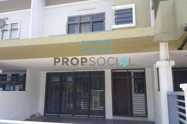 For Rent Terrace at Sierra 8, 16 Sierra Freehold Semi Furnished 3R/3B 1.8k