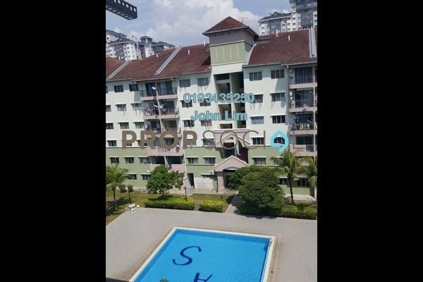 For Rent Condominium at Mas KiPark Damansara, Kepong Freehold Unfurnished 3R/2B 1.2k