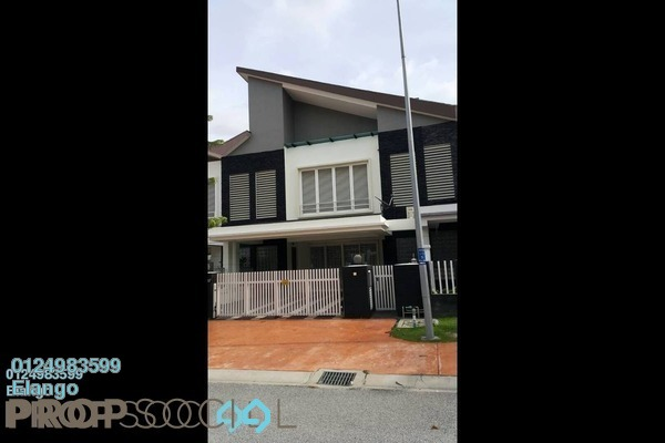 For Sale Terrace at Temasya Suria, Temasya Glenmarie Freehold Semi Furnished 7R/7B 1.85m