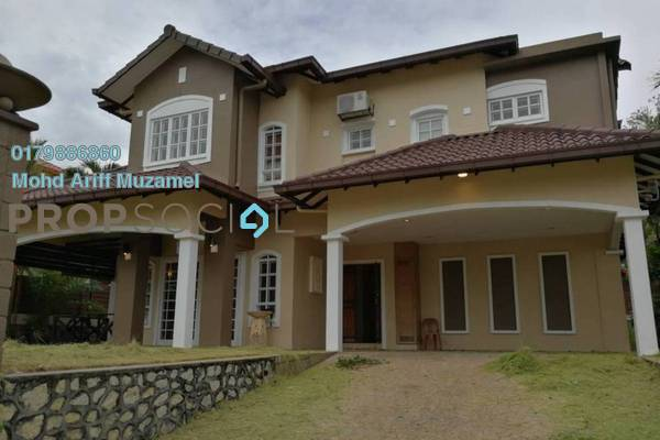 For Sale Bungalow at D'Puncak, Bukit Jelutong Freehold Semi Furnished 6R/8B 2.5m
