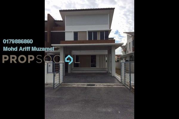 For Sale Semi-Detached at Legundi Residensi, Bandar Seri Putra Freehold Semi Furnished 5R/5B 1.15Juta